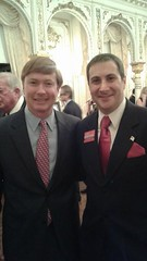Congressional candidate Joe Kaufman with Florida Commissioner of Agriculture Adam Putnam