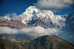 Clouds over the mountain, Annapurna, Nepal (CamelKW) Tags: nepal mountain clouds trekking annapurna himalayas annapurnatrek poonhill mountainpeaks mountaintrekking thehimalayas poonhilltrek mountainsandskies trekkinginthehimalayas himalayastrekking ghorepanipoonhilltrek trektopoonhill