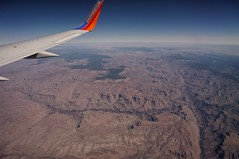 Southwest Airlines ad number 1 (rovingmagpie) Tags: arizona southwest grandcanyon southwestairlines windowseat springbreak2014