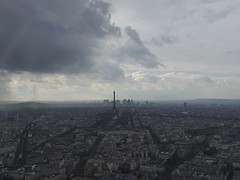 2016-05-01 16.07.23 (nickbruce483) Tags: roof paris france tower europe eiffeltower observatory viewer montparnasse cityview skycraper citysight 53floors