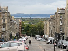 Firth view from Queen Street (jimsawthat) Tags: street uk urban architecture scotland edinburgh unitedkingdom newtown firth