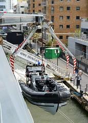 HMS Duncan (50)  @ West India Dock 21-05-16 (AJBC_1) Tags: uk england london boat ship unitedkingdom military navy vessel destroyer canarywharf nato warship eastlondon rn royalnavy nikond3200 britisharmedforces type45destroyer navalvessel westindiadock britishmilitary d37 ukmilitary hmsduncan airdefencedestroyer pacific24rib dlrblog ajc