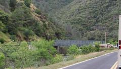 CA-140 Avalanche detour (#0543) (DB's travels) Tags: california bridge sierra0516