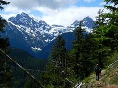 Diablo Lake Trail (Ramona H) Tags: walking outdoors spring hiking trail diablo northcascades diablolaketrail