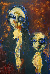 fb-16schilderij00524 (artypicturez) Tags: schilderij touw acryl zand