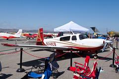 Private Mooney M-20TN N348CB (jbp274) Tags: airport display airplanes airshow mooney chino cno acclaim m20 kcno