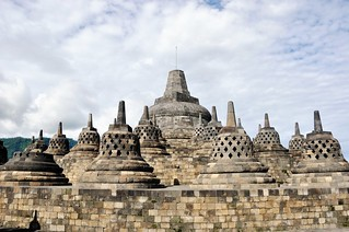 borobudur - java - indonesie 44