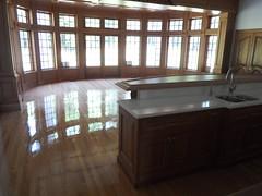 Red Oak floors (SuperiorFloors) Tags: windows kitchen floors oak lakegeorge flooring redoak hardwood