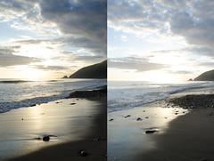 Thornehill Broom Beach (Kevin T. Birdt) Tags: california sunset beach clouds waves pch broom thornehill