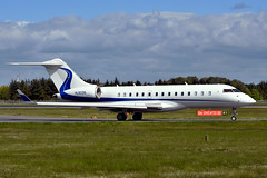 HL8238.EDI150516 (MarkP51) Tags: plane airplane scotland airport nikon edinburgh image aircraft aviation edi bombardier globalexpress bizjet egph corporatejet d7200 hl8238 markp51 bd700xrs