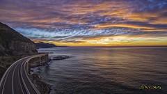 The Road To A Sunrise (ralphb58.) Tags: ocean morning bridge sea australia pacificocean nsw newsouthwales tasmansea southcoast illawarra lawrencehargravedrive coalcliff coalcliffbridge