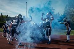 SteelSharks Traun vs Carinthian Lions (karlhans) Tags: sports football sterreich arena american traun haka steelsharks f16plus karlfluchphotography wwwf16pluscom
