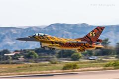 F-16 (ctmartinez79) Tags: zaragoza f16 tigermeet fightingfalcon natotigermeet spotterday 31smaldeel aircomponentofthebelgianarmedforces