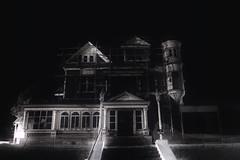 buried bones n baby teeth (roadkill rabbit) Tags: city abandoned night driving mansion