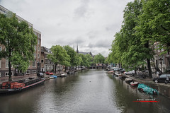 Amsterdam (aavee77) Tags: travel holland rain amsterdam architecture cityscape tourist canals nederlands jordaan