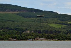 (Zak355) Tags: plane scotland riverclyde aircraft scottish hercules royalnavy bute rothesay isleofbute towardcastle