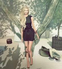 look of the day 2016/06/26 (=DeLa*=) Tags: hair shiny mesh style potd sl secondlife dela materials shabby lotd fitted secondlifefashion slhair summerfest16