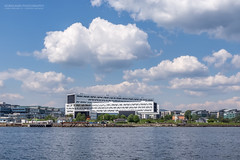 Clouds over Statoil (Normann Photography) Tags: norway architecture buildings no akershus cloudporn telenor fornebu statoil
