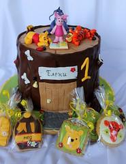 Winnie the pooh cake (nan4eto) Tags: boys pooh stump winnie