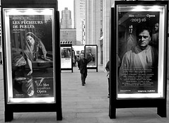 Visiting Lincoln Center (sinbadcc1) Tags: street nyc newyork man streetphoto lincolncenter