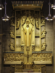 Sacred Heart and the Eucharist (Lawrence OP) Tags: cathedral jesus chapel baltimore canopy tabernacle blessedsacrament sacredheart