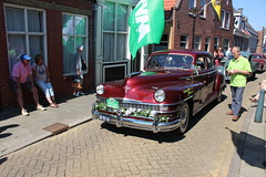 1947 Chrysler Windsor (Davydutchy) Tags: auto classic netherlands car automobile tour ride rally may nederland voiture bil vehicle windsor oldtimer frise chrysler rit paysbas friesland niederlande bolsward 2016 classico klassiker klassiek frysln pkw elfstedentocht frisia vetern tocht automobiel boalsert