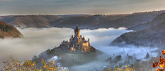 Reichsburg Cochem in der Nebelstimmung (oblakkurt) Tags: und schlsser burgen nebelstimmung