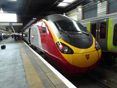 390136 at London Euston (4/7/16) (*ECMLexpress*) Tags: west london coast trains class virgin emu euston 390 pendolino wcml 390136