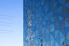 Instagram photo July 07, 2016 at 11:40AM (photobrixie) Tags: blue reflection hotel stockholm victoriatower scandic instagram ifttt