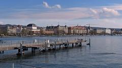 Zurichsee (Steffi-Helene) Tags: bridge lake schweiz switzerland aqua europe suisse cities zrich brcke seen steg zrichsee gewsser