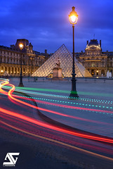 Wave (A.G. Photographe) Tags: sunset paris france french nikon europe louvre ag capitale nikkor pyramide franais parisian anto xiii parisien 2470 d810 pavillonsully antoxiii agphotographe