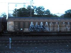 yorta? (northrhine westphalia bench) Tags: graffiti freight freights gterzug