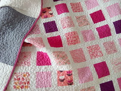 Pink-twin-quilt_000044 (irina_vykhrestiuk) Tags: modern quilt handmade homemade twin kid child patchwork bedding bed quilting memory throw