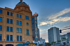Balboa Theater, 4th Ave, San Diego, CA (Photos By Clark) Tags: california building unitedstates sandiego cities places location where northamerica nik hdr lightroom locale canon1740 canon60d