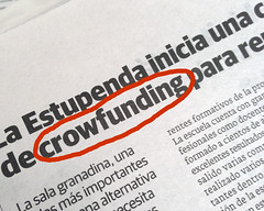 Crowfunding (Micheo) Tags: newspaper spain error granada spelling mistake press periodico hechoconuniphone5