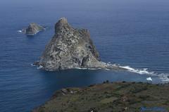 DSC_0107 (AlfredoGutirrez) Tags: blue sea naturaleza mountain nature azul trekking mar paisaje tenerife montaa senderismo naturalpark parquenatural anaga roquesdeanaga