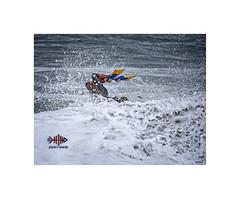 Splish Splash!! (silver/halide) Tags: ocean sea cornwall surf waves surfing atlantic d750 bodyboarding kernow atlanticcoast portreath thenorthcoast