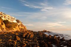 20100102_Corona_del_Mar_0008.jpg (Ryan and Shannon Gutenkunst) Tags: ocean ca houses sky usa beach water rocks cliffs coronadelmar coronadelmarstatebeach