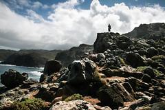 Nakalele point, Maui (courtney_80) Tags: silhouette divya blowhole volcanicrock nakalelepoint