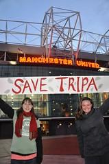 Kirsten&Abigail, Old Trafford, Manchester, UK (endoftheicons) Tags: sumatra orangutan deforestation palmoil tripa internationaldayofaction