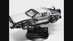 "ORION PAX - Zeitmaschine (""Orion Pax"") Tags: lego delorean backtothefuture timemachine"