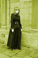 Whitby Goth Weekend 15 (Beachcomber ( By The Bay )) Tags: beach festival photoshop eos coast interesting model flickr north 19thcentury victorian event coastal coastline northeast alternative edwardian fascinating northeastcoast bythesea whitbygothweekend coastallife 450d canoneos450d newbigginphotographygroup photoshopelements80 beachcomberbythebay