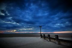 Findhorn Sunset - Scottish highlands (Michael Carver Photography) Tags: sunset sea clouds photography coast scotland sand nikon scottish highland moray firth findhorn d3100