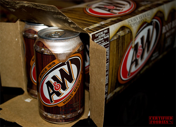 A&W Rootbeer 12-can pack