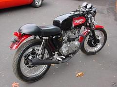 Curtis Odom Triumph Cafe Racer (Curtis Odom) Tags: caf vintage norton triumph odom manx curtis racer bsa hubs