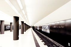 expectance (Igor Krieg) Tags: berlin station train underground subway zug bahnhof bahn verkehr berlinmitte