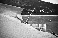 dunas (la3endiscordia.) Tags: sea mar agua dune arena duna tarifa valdevaqueros la3endiscordia