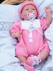 Christinchen neu bestrickt (ute_hartmann) Tags: doll puppe stricken berenguer babypuppe