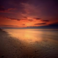 Isle of Palms Sunrise (Shannon Cayze) Tags: beach sunrise southcarolina charleston 1740mm canonef1740mmf4lusm isleofpalms canon5dmarkii shannoncayze singhray3stopreversegnd