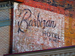 Barbizan Hotel for Women (Signs Along the Way) Tags: hotel ghost livingston ghostsign barbizanhotel